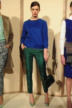 J. Crew   Runway Fashion   Emerald   Fashion Trend   Pantone Color   Style