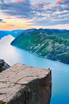 Solitude, Pulpit Rock, Norway