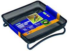 """Amazon.com : Gardman BA01305 Compact Ground Bird Feeder Tray, Black, 7"""" Long x 7"""" Wide x 2"""" High. : Bird Feeders : Patio, Lawn & Garden"""