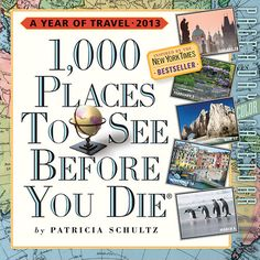 1,000 Places to See Page-A-Day 2013 Desk Calendar