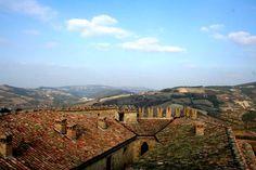 View from #Zavattarello castle