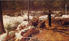 Eastman Johnson A Boy in the Maine Woods, painting Authorized official website