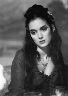 "Winona Ryder as Mina Harker in Francis ford Coppola's ""Bram Stoker's Dracula"""