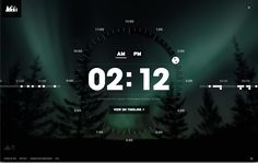 Clock from REI › PatternTap This site is the bomb and it will help me when I design my apps