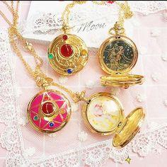 Cute Kawaii Sailor Moon Pocket Watch