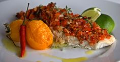 Obiad - Aromatyczna ryba na ostro