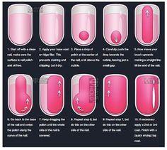 Nail polish instructions