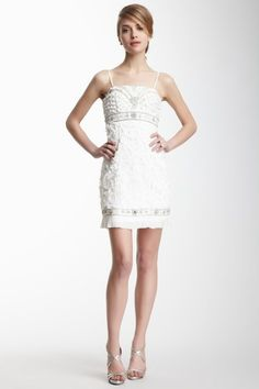 Sue Wong Short Rose Dress