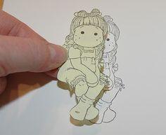 Kristins lille blogg: Tutorial: Maskering av stempler - sammensetting av stempeltrykk