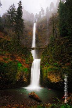 Multnomah Falls by Simon Rimmington, via 500px