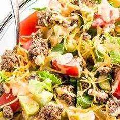6. Big Mac Salad – Cheeseburger Salad - 30 Low Carb Diet Recipes
