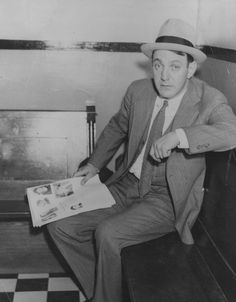 Infamous Mobsters: Jewish-American gangster Dutch Schultz awaits the verdict in his trial for income tax evasion in 1935. While the bootlegger avoided a conviction, he was assassinated later that year on orders from the Mafia�s ruling body, the Commission.