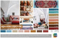 D ESIGN OPTIONS is a Los Angeles based trend and color forecasting company, providing trends from a west coast perspective. Color Trends 2018, 2018 Color, Home Decor Hacks, White Home Decor, 2020 Design, Fashion Colours, Home Decor Trends, House Colors, Colorful Interiors