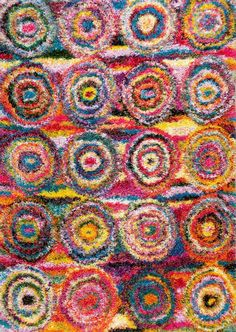 The Kindra Circles Shaggy Collection from Turkey has the perfect mix of textural detail, beautiful coloration, and Polypropylene. Featuring truly Contemporary patterns, Kindra Circles Shaggy can blend seamlessly with a range of interiors. Rug Size Guide, Circle Rug, Shaggy Rug, Rugs Usa, Round Rugs, Indoor Rugs, Rug Hooking, Locker Hooking, Carpet Runner
