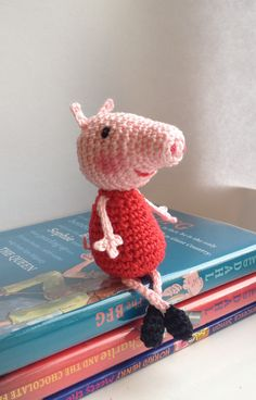 Crocheted Peppa Pig @Melissa Squires Squires Squires Tucker