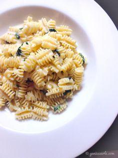Pasta mit Bärlauch & Gorgonzola von @geniesserle