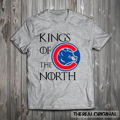 Funny Kings of the North Chicago Cubs GoT by TheRealOriginal