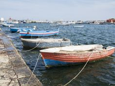 The little harbor at Marzamemi