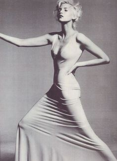 nadja auermann by irving penn