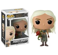 Funko - Bobugt003 - Figurine Cinéma - Game Of Thrones - Bobble Head Pop 03 Daenerys!