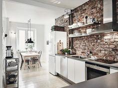 Des briques et du parquet blanc, on dit oui http://wp.me/p1J2A5-rTe