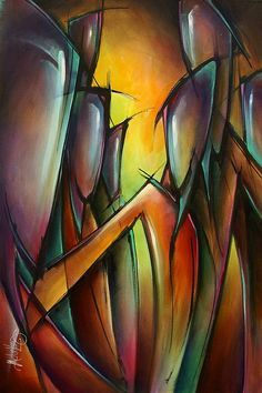 Urban Expression Featured Images - Seven by Michael Lang Contemporary Abstract Art, Modern Art, African Paintings, African Sculptures, Original Design, Turkish Art, Learn Art, Abstract Portrait, Acrylic Art