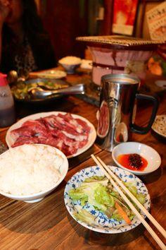 Gyumon yakiniku at Shibuya, Tokyo, Japan. The BEST halal beef barbecue set meal....