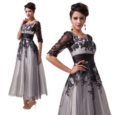 Vintage Mother of the Bride 1940's 50 s LACE style Rockabilly Party Prom Dresses