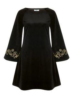 Angel Lurex Velvet Dress 1