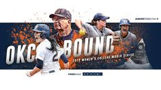 The Auburn softball team secured a berth in the 2015 Women's College World Series after defeating Louisiana-Lafayette at Jane B. Moore Field on Saturday. The Tigers will play its first game in the WCWS in Oklahoma City on Thursday. Auburn Softball, College World Series, Family News, Different Sports, Auburn University, Alma Mater, First Game, Oklahoma City, Louisiana