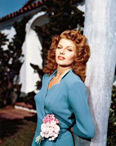 American actress Rita Hayworth (1918 - 1987), circa 1955.
