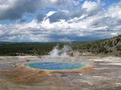 Yellowstone National Park. I left home and spent a summer here when I was 17. I will never be that young again.