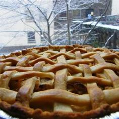 Glazed Apple Cream Pie Allrecipes.com. This turned out great even my husband liked it.