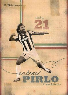 andrea Pirlo Poster