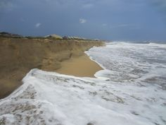 The sandbanks in the outer banks