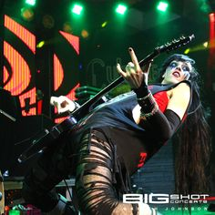 Kimberly Freeman of One-Eyed Doll at the Culture Room in Ft. Lauderdale, Florida.