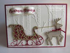 My Crafty Friends Monday: Santa's Sleigh