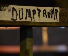 Shickshinny graffiti #trump #dumptrump #pennsylvania #night #bridge