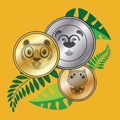Jungle Munten - leren rekenen met geld van Andrew Short