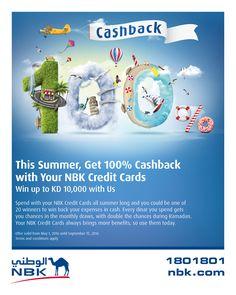 NBK - Summer Cashback on Behance