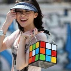 Rubik Cube Bag / Bolso Cubo Rubik Wh192 Kawaii Clothing by Kawaii Clothing Height 15CMThickness 15CMBottom Width 15CMHand Strap Height 15CMRubik Cube Bag / Bolso Cubo Rubik Wh192 Kawaii ClothingTags : kawaii , clothing , cute , ropa , tokyo , cosplay , japan , korea , fashion , anime , manga , harajuku , neo , gyaru , girls , women , trendy , fashion , cube , rubik , rubick , bag , handbag , sac , colorful