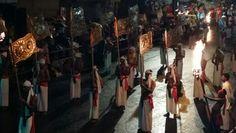 Esala Perahera Festival en Kandy.  Sri Lanka.