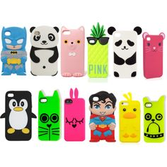 Super COOL Phone Cases...Quiet a few I would love to have.