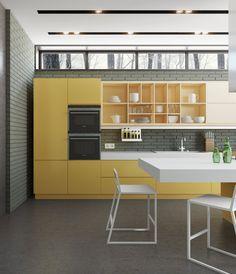 Projekt 1 Oleg Malykhin › Diseños de arquitectos ruso líder › Galería › Cocinas | LEICHT – Moderno diseño de cocinas para viviendas de nuestro tiempo