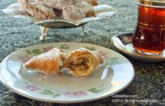 Cafe Leilee کافه لیلی - Foods from Persia to Bay Area: Ghottab: Persian Crescent Pastries with Walnut filling قطاب