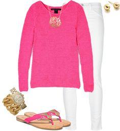 """""""pink & fancy"""" by lulu-belle-love on Polyvore"""