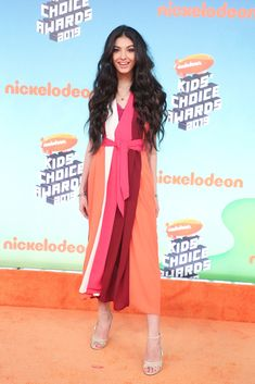 Kids' Choice Awards Fashion 2019: See The Best Dressed Stars – Hollywood Life Kids Choice Award, Choice Awards, Daniella Perkins, Lilly Singh, Yellow Gown, Skai Jackson, Forever 21 Girls, Orange Carpet, Candace Cameron Bure