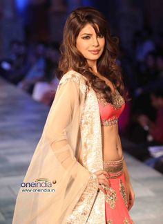 Priyanka Chopra at Mijwan Sonnets in Fabric Fashion Show, Sept, 2012 by Manish Malhotra to raise funds for brilliant Mijwan Welfare Society run by Actor & Activist Shabana Azmi https://twitter.com/AzmiShabana founded by her late father Poet Activist Kaifi Azmi   http://www.ketto.org/fundraiser_home.php?id=Fund134