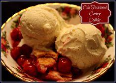 Sweet Tea and Cornbread: Mama's Old Fashioned Cherry Cobbler!