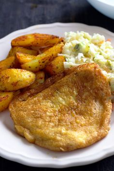 Chicken breasts according to sister Anastazja (omelet) - Tastes on the plate Turkey Recipes, Chicken Recipes, Fast Food, Polish Recipes, Cake Recipes, Food And Drink, Pork, Tasty, Lunch